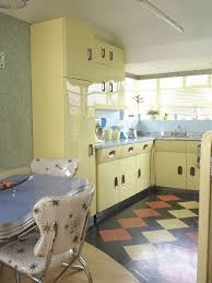 Original 1950s Vintage English Rose Kitchen As Photographed By Simon Whitmore For FW Media Style Your Retro Decor1950s