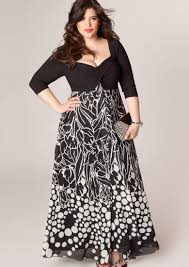 maxi dress for plus size pluslook eu collection