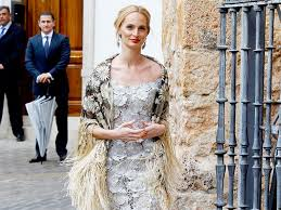 Lauren Santo Domingo Attending A Wedding