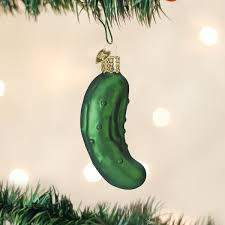 Pickle On Christmas Tree German Tradition by Amazon Com Old World Christmas Pickle Glass Blown Ornament Home