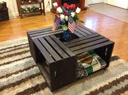 My Michaels Crate Coffee Table 4 Crates A Board Wheels And Some