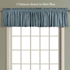 Anna Lace Curtains With Attached Valance annaleigh faux silk waterfall window treatment