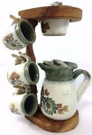 Image Is Loading Pour Over Coffee Maker With 6 Mugs Handmade
