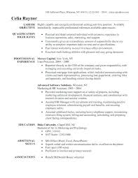 Resume For Executive Assistant To Ceo Samples Of Resumes Administrative Positions Examples Senior
