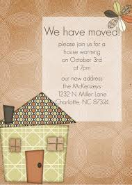 Housewarming Invitation Cards Templates