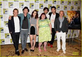 Cast Of Halloweentown by Lily Collins U0026 Jamie Campbell Bower U0027city Of Bones U0027 At Comic Con