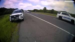 Cheatham Co. Officer's Spike Strip Toss Stops Car - YouTube