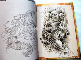 Wholesale China Style Tattoo Flsh Book Hannya Skull Ghost Buddha Dragon Koi Flower Snake Sketch Outline Free Shipping In Accesories From Beauty