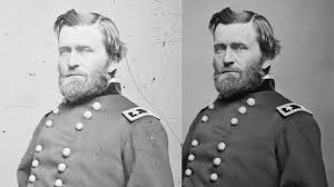 General Ulysses S Grant American Civil War Photo Restoration