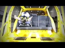 crash test siege auto bebe bébé confort crash test siège auto airbags axissfix air