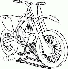 Android Coloring Book Source Code App Codeon Simple Motorcycle Color Page