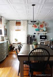 Fasade Drop Ceiling Tiles by How To Easily Update An Ugly Drop Ceiling Robb Restyle
