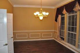 Swingeing Dining Room Chair Rail And Picture Frame Molding Traditional