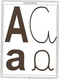 Alfabeto Com 4 Tipos De Letras Para Imprimir