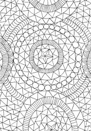 Coloring Book Page From The Mindfulness Anti Stress Art Therapy For Busy People By Emma Farrarons Courtesy Experiment Publishing