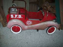Pedal Firetruck | Collectors Weekly A Late 20th Century Buddy L Childs Fire Truck Pedal Car Murray Fire Truck Pedal Car Vintage 1950s Jet Flow Drive City Fire Amf Fighter Engine Unit No 508 Sold Childs Metal Rescue Truck Approx 1m In John Deere M15 Nashville 2015 Baghera Childrens Toy 1938 Antique Engine Fully Stored Padded Seat 46w X Volunteer Department No8 Limited Edition No Generic Firetruck Stock Photo Edit Now Amazoncom Instep Toys Games These Colctible Kids Cars Will Be Selling For Thousands Of