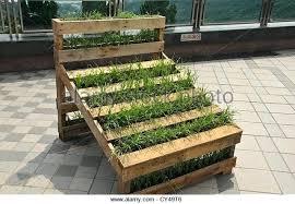 Pallet Garden Vertical Fence