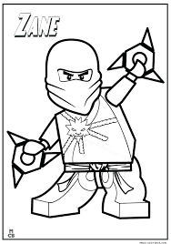 Lego Ninjago Coloring Pages Pdf Ninja This Cute