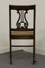 Lyre Back Chairs Antique by High End Used Furniture Antique 1940 U0027s Mahogany Duncan Phyfe