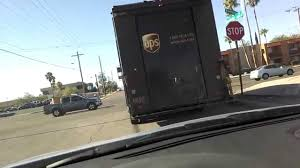 100 Who Makes Ups Trucks UPS Truck Makes A Left Turn No Signal Video Rightside Up After A