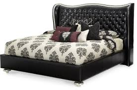 Aico Michael Amini Hollywood Swank Starry Night Upholstered Bed