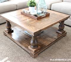 diy wooden coffee table u2013 les proomis