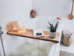 diy badewannenablage selber machen badezimmer makeover