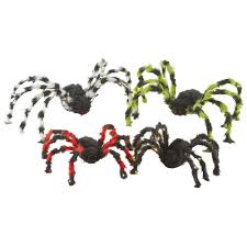 Spirit Halloween Jumping Spider by Home Accents Holiday 5 In Battery Operated Spiders Set Of 4