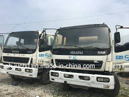 China Used Isuzu Concrete Cement Mixer Truck /Japanese Concrete ...