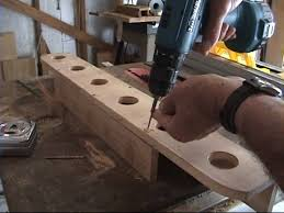 how to build a rod holder youtube