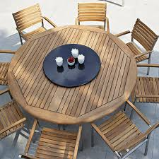 patio amusing round wood patio table wood outdoor sectional how