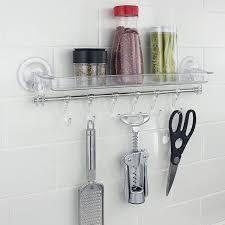 neue produkt ideen 2019 moderne home küche bad klebrige acryl ware veranstalter regal mit make up halter rack buy bad regal acryl