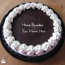 Write Name on Cake Fantastic Chocolate Icecream Birthday Cake With Name