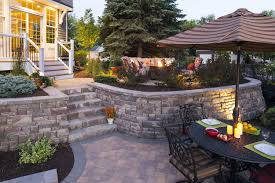 Minnesota Backyard Paver Patios | Southview Design Brick Garden Wall Designs Short Retaing Ideas Landscape For Download Backyard Design Do You Need A Building Timber Howtos Diy Question About Relandscaping My Backyard Building Retaing Fire Pit On Hillside With Walls Above And Below 25 Trending Rock Wall Ideas Pinterest Natural Cheap Landscaping A Modular Block Rhapes Sloping Also Back Palm Trees Grow Easily In Out Sunny Tiered Projects Yard Landscaping Sloped