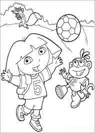 Nick Jr Coloring Pages Fabulous Dora The Explorer Book