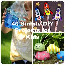 Looking For Fun Crafts To Try With Your Kids And Grandchildren Weve Found You 40 Terrific Simple DIY Projects Youll Want Do Together As A Family
