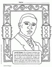 Related Resources BIOGRAPHY Garrett Morgan Coloring Page