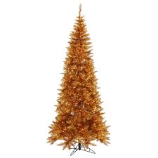 Slim Copper Fir Christmas Tree