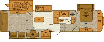 2008 Montana 5th Wheel Floor Plans by 3905sh Motorcycle Garage Option 2015 Towables Pinterest