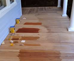 Restaining A Deck Do It Yourself by Front Porch U2013 Part 3 Of 3 Where We Sand And Stain The Floor But