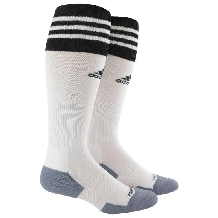 Adidas Copa Zone Cushion II Sock - White/Black, Medium