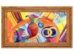 3d wandtattoo malerei modern abstrakt kunst kaffee coffee selbstklebend wandbild wohnzimmer wand aufkleber 11m883 wandtattoos und
