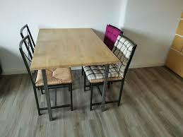 esszimmer küchentisch mit 4 stühlen