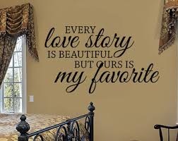 Master Bedroom Wall Decal Decor Love Quotes Art