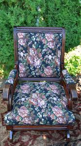 19th Century Antique Victorian Eastlake Mahogany Rocking Chair New  Upholstery Victorian Rocking Chair Image 0 Eastlake Upholstery Fabric Application Details About Early Rocker Rocking Chair Platform Rocker Colonial Creations Mid Century Antique Restoration Broken To Beautiful 19th Mahogany New Upholstery Platform Eastlake Govisionclub Illinois Circa Victoria Auction