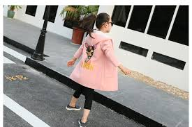 New Baby Girl Winter Jacket Thickness Fleece Coat Girl Blouson