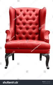 Red Leather Armchair Isolated On White Stock Photo 127364540 ... Chairs Red Leather Chair With Ottoman Oxblood Club And Brown Modern Sectional Sofa Rsf Mtv Cribs Pinterest Help What Color Curtains Compliment A Red Leather Sofa Armchair Isolated On White Stock Photo 127364540 Fniture Comfortable Living Room Sofas Design Faux Picture From 309 Simply Stylish Chesterfield Primer Gentlemans Gazette Antique Armchairs Drew Pritchard For Sale 17 With Tufted How Upholstery Home
