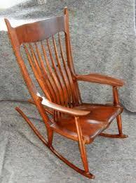 Sam Maloof Rocking Chair Plans by Maloof Rocker Plans Wooden Furniture Design