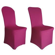 housse de chaise lycra housse de chaise fushia lycra achat vente housse de chaise