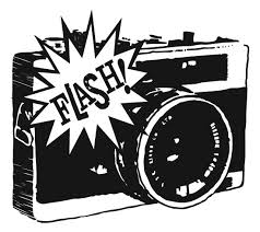 Camera Flash Clipart Black And White